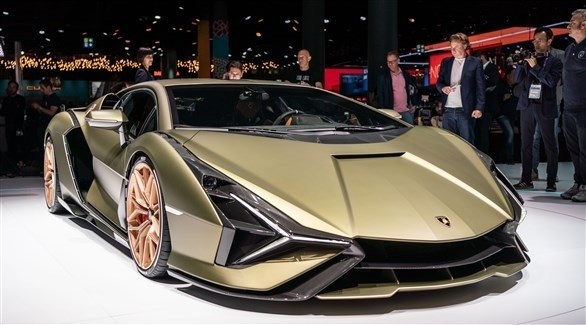 Lamborghini presented Sián FKP 37 at the Frankfurt Fair
