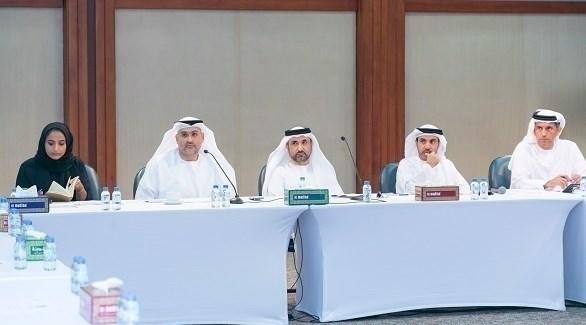 جانب من اجتماع لجنة إدارة الانتخابات ولجنة الأنظمة الذكية (من المصدر)