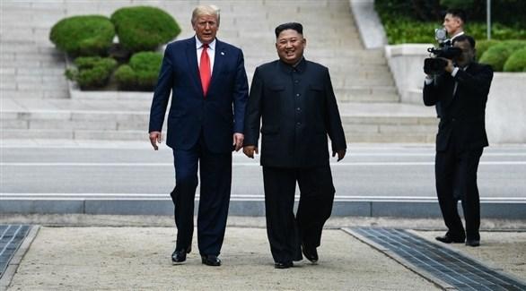 الرئيس الأمريكي دونالد ترامب والزعيم الكوري الشمالي كيم جونغ أون (أرشيف)