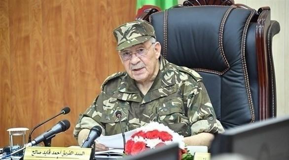 رئيس أركان الجيش الجزائري أحمد قايد صالح (أرشيف)