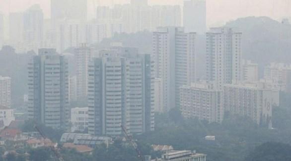 تلوث الهواء في سنغافورة (أرشيف)
