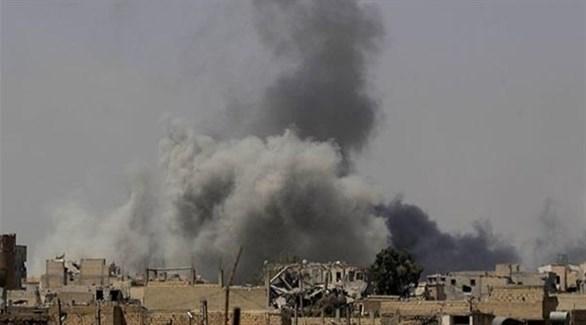 قصف سابق على مواقع إيرانية في شرق سوريا (أرشيف)