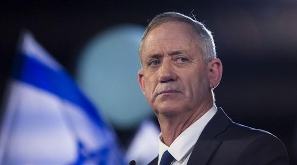 رئيس حزب التحالف الوسطي أزرق أبيض بيني غانتس (أرشيف)