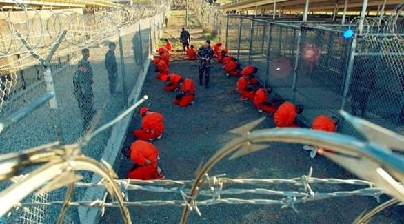 معتقلون في سجن غوانتانامو (أرشيف)