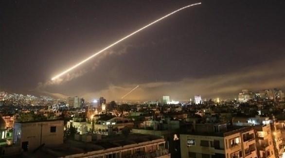 الدفاعات السورية تتصدى لهجوم صاروخي (أرشيف)