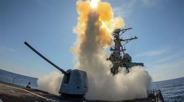 أسلحة وصواريخ على متن سفينة أمريكية (أرشيف)