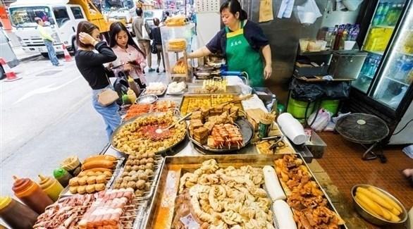 مأكولات الشارع في هونغ كونغ (ميرور)
