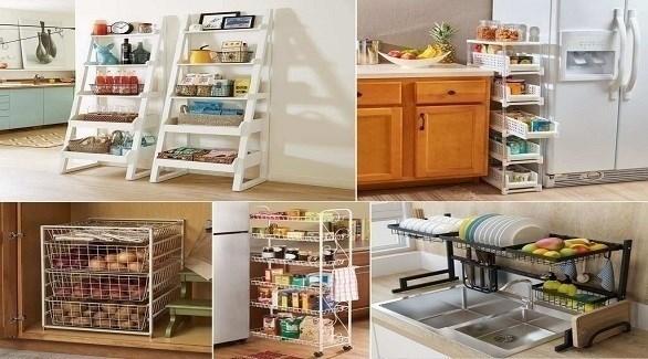 أفكار لرفوف مطبخ خارجة عن المألوف (أميزنغ إنتيرير ديزاين)