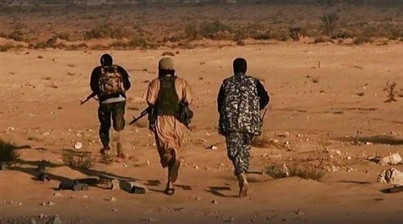 مسلحون في تنظيم داعش الإرهابي (أرشيف)
