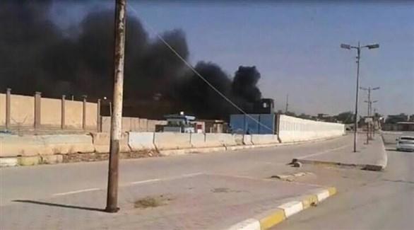 قصف مجهول على معسر تابع لقوات الحشد العراقي (أرشيف)