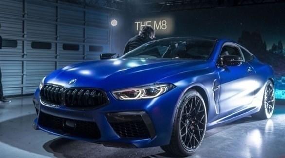 سيارة بي ام دبليو الجديدة تسمى  اسم M8 Competition