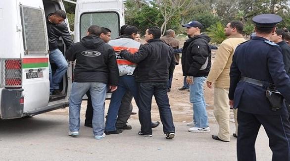 الشرطة المغربية تعتقل مطلوبين في عملية سابقة (أرشيف)