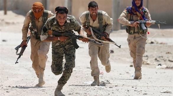 مسلحون أكراد في عفرين (أرشيف)