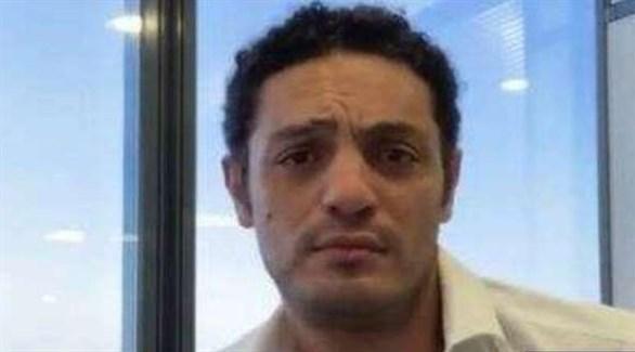 المحرض المصري الهارب محمد علي (أرشيف)