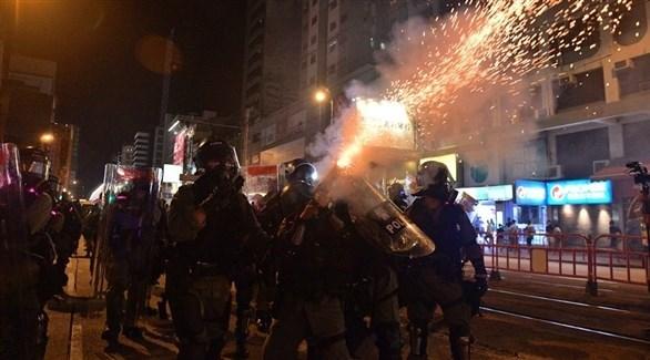 قمع الشرطة للمظاهرات في هونغ كونغ (أرشيف)