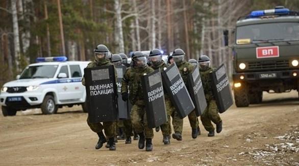 عناصر الشرطة الروسية (أرشيف)