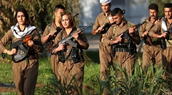 مسلحون أكراد (أرشيف)