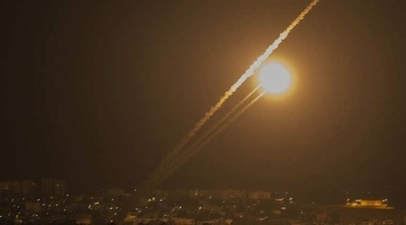 إطلاق صاروخ من غزة نحو إسرائيل (أرشيف)