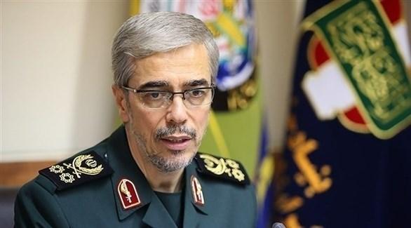 رئيس هيئة الأركان الإيرانية محمد باقري (أرشيف)