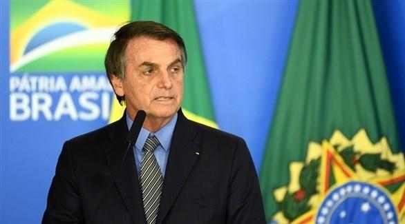 الرئيس البرازيلي جايير بولسونارو (أ ف ب)