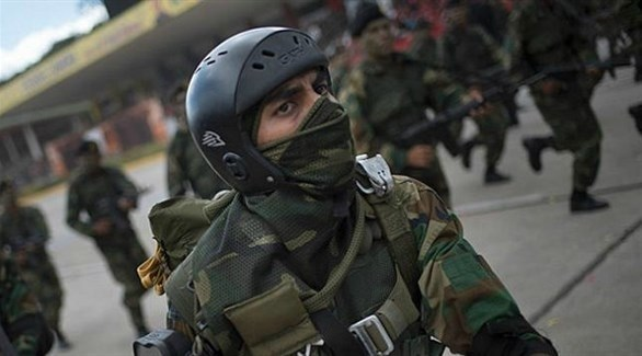 عناصر من الشرطة في فنزويلا (أرشيف)