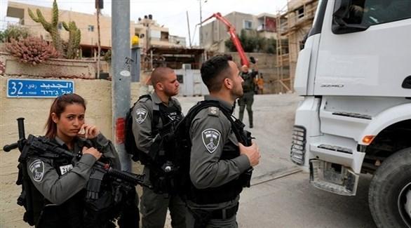 عناصر شرطة الإحتلال الإسرائيلي (أرشيف)