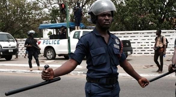 عناصر شرطة في غانا (أرشيف)
