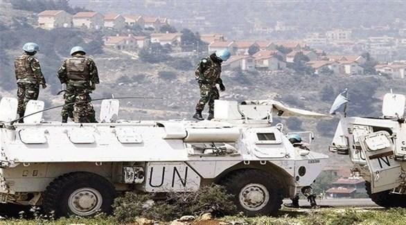 عناصر من قوات اليونيفل على الحدود اللبنانية (أرشيف)