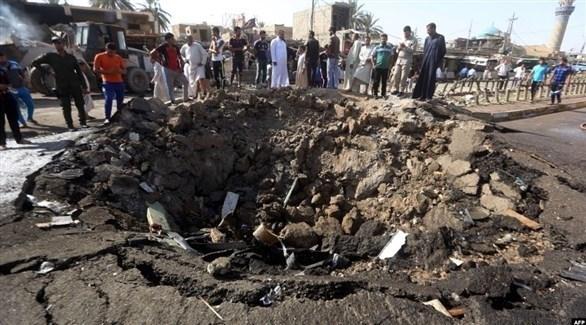 هجوم انتحاري سابق في ديالى (أرشيف)