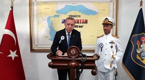 أردوغان وخريطته المثيرة (زمان)