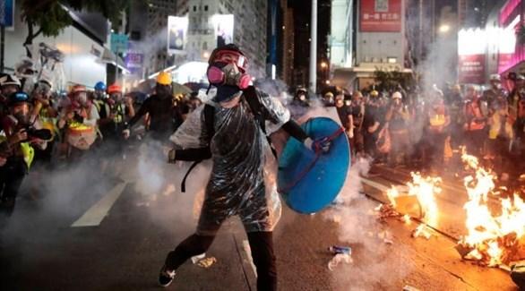 احتجاجات في هونغ كونغ (أرشيف)