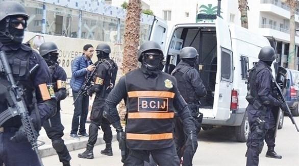 عناصر من شرطة مكافحة الارهاب المغربية (أرشيف)