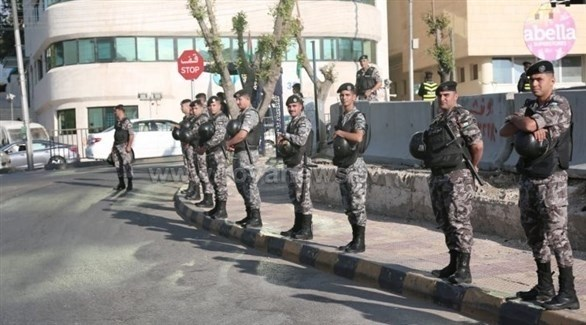 عناصر من القوات الأمنية الأردنية (أرشيف)