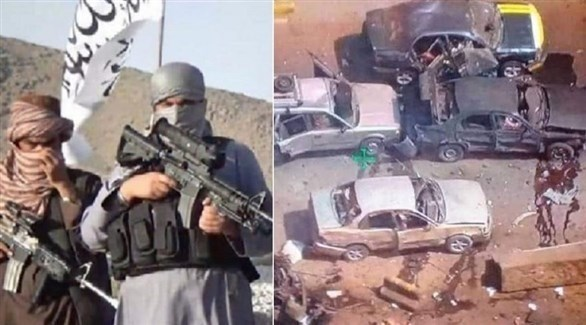 هجوم لطالبان بسيارة مفخخة في أفغانستان (خاما برس)
