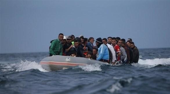 قارب مهاجرين (أرشيف)