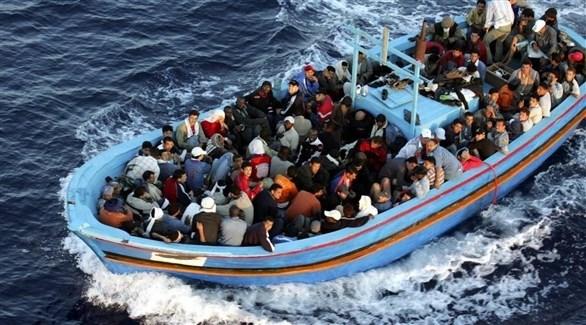 مهاجرون في المتوسط يسافرون إلى أوروبا (أرشيف)