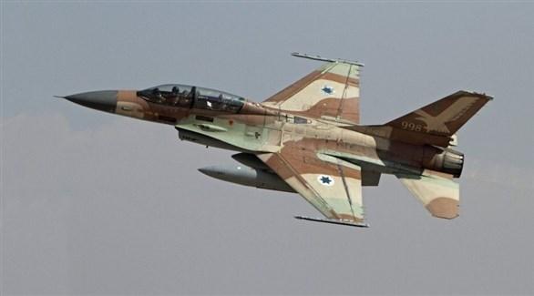 مقاتلة إسرائيلية (أرشيف)