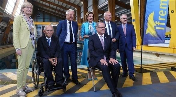 رؤساء برلمانات مجموعة السبع الكبار (أ ب )