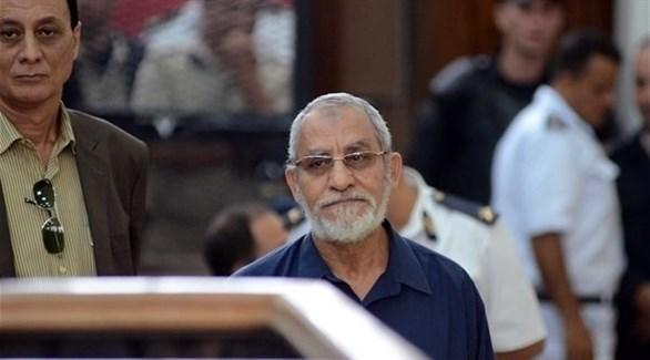 محاكمة محمد بديع ، مرشد الإخوان (أرشيفية)