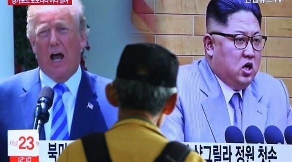 مسن يتابع تطورات أخبار الملف النووي لكوريا الشمالية (أرشيف / أ ب)