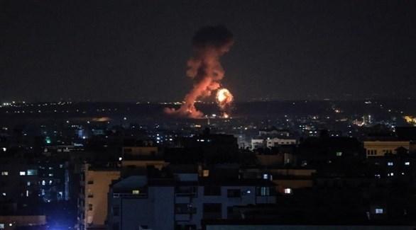 قصف في غزة (أرشيف)