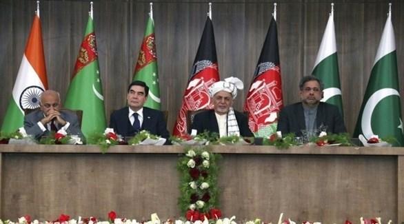 الحكومة الأفغانية بقيادة الرئيس أشرف غني (أرشيف)