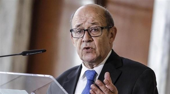 وزير الخارجية الفرنسي جان إيف لودريان (أرشيف)
