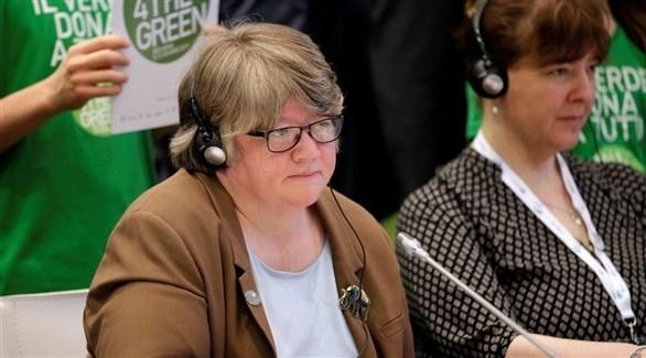 وزيرة العمل والمعاشات البريطانية الجديدة تريز كوفي (أرشيف)
