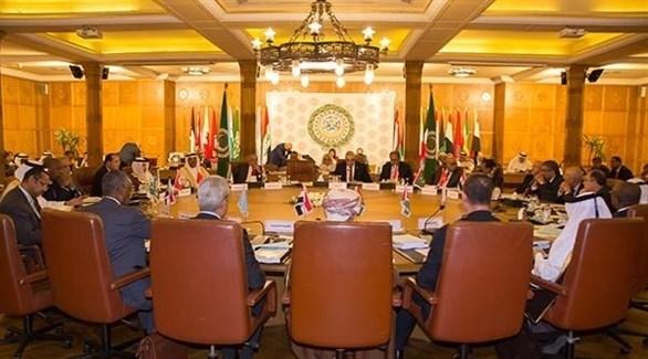 جانب من أعمال الدورة 152 العادية لمجلس جامعة الدول العربية (من المصدر)