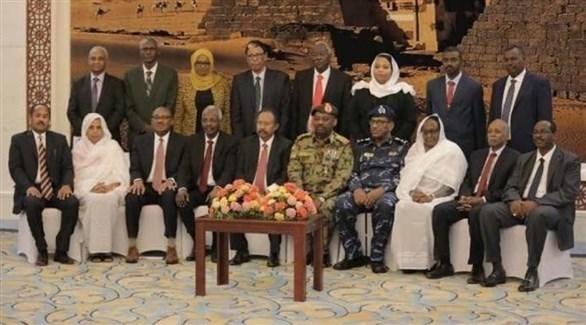 مجلس وزراء الحكومة الانتقالية في السودان (تويتر)
