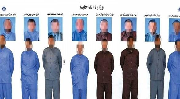 خلية الإخوان المضبوطة في الكويت (أرشيف)