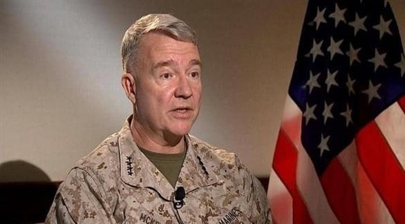 قائد القيادة المركزية الأمريكية الجنرال كينيث ماكينزي (أرشيف)