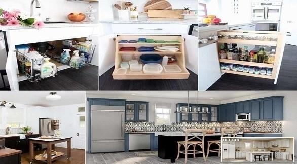 أفكار لتجديد ديكور المطبخ بطريقة عصرية (أميزنغ إنتيرير ديزاين)