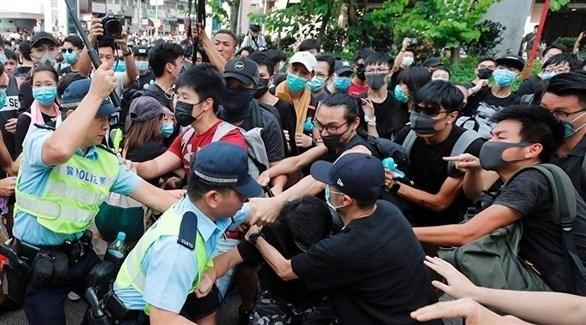 جانب من مظاهرات هونغ كونغ (أرشيف)